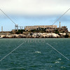 The Alcatraz Island in San Francisco, California.
