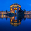 Palace of Fine Arts, pre-dawn