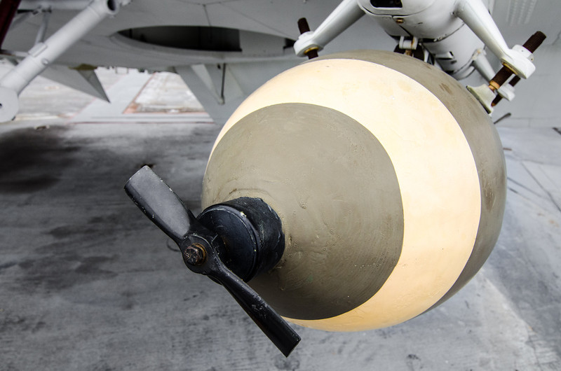 General Purpose 500 Pound Bomb USS Midway Museum