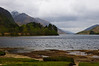Glenfinnan, the head of Loch Sheil where Bonnie Prince Charlie raised his standard to signal the start of the Jacobite uprising of 1745.