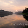 Dawn over MacRitchie Reservoir, Singapore