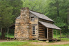 The John Oliver cabin in Cades Cove. It is the oldest log home in Cades Cove, built in the 1820s.