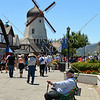 A windmill in Solvang, California.
