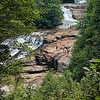 Triple Falls in Dupont State Forest, North Carolina