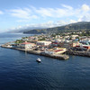 approaching Roseau, Dominica 4-5-2012
