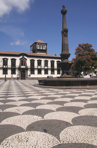 Praca do Municipio Funchal Madeira
