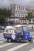 Tricycle taxi Avenida Sa Carneiro Funchal Madeira
