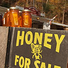USA-Sperryville-local fresh honey sold at roadsie stand
