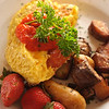 "USA-Sperryville-""Thronton River Grille"" Omlette  served at Sunday Brunch"