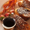"USA-Sperryville-""Thronton River Grille"" French Toast served at Sunday Brunch"