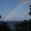 Another view of the rainbow over the Caribbean Sea the morning we left St. Lucia (A)