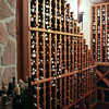 A peak into the impressive wine cellar at Ti Kaye Village Resort (A)