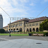 View at Stanford University campus in Stanford, California.