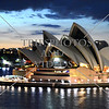 The Opera House in Sydney, Australia.