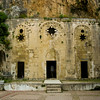 Antiochia (Antakya) : St Peter's cave church. The oldest surviving parts of the church building date from at least the 4th or 5th century. It is thought that the tunnel inside served the Christians to evacuate the church in case of sudden attacks. <br /> Crusaders of the First Crusade who captured Antakya in 1098 lengthened the church by a few metres and connected it with two arches to the facade, which they constructed.<br /> t
