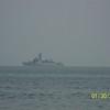 Thailand-28-02  Royal Thai Navy Ship Patroling Off Shore, Hua Hin, Thailand