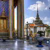 HDR of the Grand Palace in Bangkok, Thailand