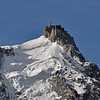 The Aiguille (Needle) du Midi.  The gondola took us to the top -- 12,678 feet.