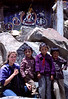 (photo by Rob Yoder) Anna Lisa with Tibetan kids we befriended while circumnambulating the Tasilhunpo