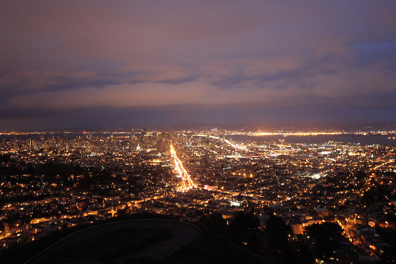 San Francisco Whoo-Ra with My Bro, View from Twin Peaks