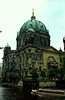 Germany - Berlin - cathedral and boat