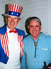 USA - NH - Dixville Notch - 1996 primary - Uncle Sam and Stone, Alex partial edit