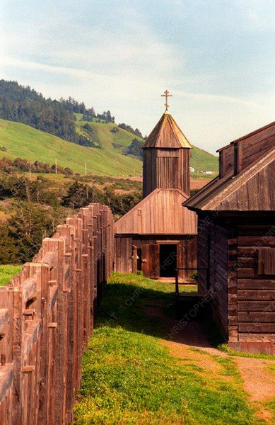USA - CA - Fort-Ross - tower