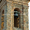Church tower in Volpaia, Chianti, Italy