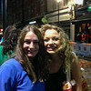 Lexie with Carrie Fletcher, star of Les Miserables  UK Vacation 2014-07-07