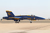 USA 2011 - MCAS Miramar Air Show - US Navy Blue Angels F/A-18 Hornet