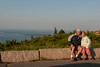 • Location - Cadillac Mountain in Acadia National Park<br /> • Sandy and I at Cadillac Mountain in Acadia National Park