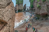 • Location - Hopewell Rocks in New Brunswick Canada<br /> • Almost at the bottom of the stairs at Staircase Cove