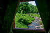 • Location - Kent Falls, CT<br /> • A view from one of the opening in the covered bridge
