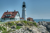 • Location - Cape Elizabeth, ME<br /> • Various views of the lighthouse on Portland Head Light