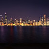 Chicago Skyline Adler Planetarium