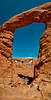 Window section through Turret Arch