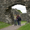 Bob, Kristi & JD at Inverlochy Castle, Scotland