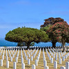 Fort Rosecrans National Cemetery at Point Loma in San Diego, California