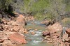 Virgin River at Zion