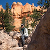 Ann on the Navajo Trail, Bryce Canyon NP
