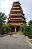 <h2>Bao thap xa loi</h2> This seven-tiered pagoda is revered as the home of a Buddha relic and a Buddhist publishing centre. Built in 1956, the pagoda was the centre of opposition in 1963 when 400 monks and nuns were arrested for civil disobedience. Thich Quang Duc, one of the monks to protest by self-immolation, has a memorial nearby. Check out the 32m-tall bell tower, the largest in Vietnam. Website is chuaxaloi.com