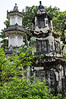<h2>Giac Vien Pagoda</h2> It has the ancient architecture of the pagodas built in the Nguyen Dynasty of the 19th century, and typical characteristics of the southern area. Giac Vien Pagoda has typical features, of southern Vietnam. The main shrine, also a big hall, is 360m² in area, and used to worship Buddha. To its east and west, there are corridors, a room for the monks to prepare clothing before assisting the Superior Monk, and a large and spacious compartment at the rear. Along the corridors, there are small altars with worshipping items. In particular, there are rows of wooden pillars engraved with parallel sentences. The letters are carved delicately and painted with red lacquer and trimmed with gold. Around them there are decorative designs of leaves and climbing plants.  Giac Vien Pagoda has been classified by the State as a cultural relic and a mini-museum of wooden engravings of historical and artistic value. For this reason, it attracts a lot of researchers and visitors all year round.
