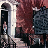 Benjamin in Front of Robert E. Lee's Boyhood Home - Alexandria, VA - 10/13/85