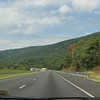 Dirty Windshields Don't Allow Clear Photos - I-64 West at Blue Ridge Mts. - Donna's 56th Birthday  9-3-06