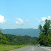 Cloud and Mountain Views on Route 33 West Near Standardsville, VA
