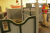 Where mares go to be examined to see if pregnant and then checked on during the gestation period.