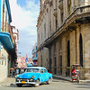 Long view of the old street in part of the Havana.
