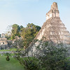 Great Plaza, Temple I, Tikal