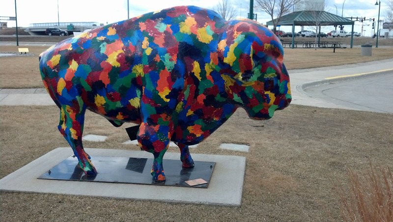 08_Painted bison