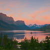 TRMT-12094: St. Mary's Lake sunrise